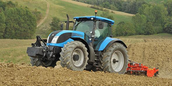 Tracteurs de grandes puissances